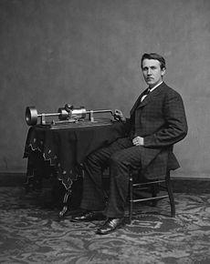 230px-Edison_and_phonograph_edit1